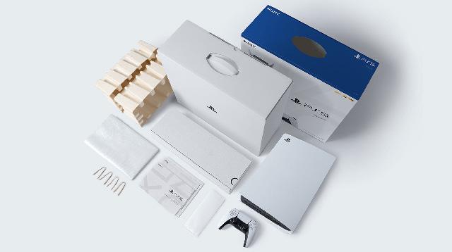 PlayStation 5 ha un packaging ecosostenibile
